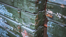 Military Ammo Crate Storage Ch...