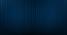 Vector Blue Curtain Background With Stage Light,modern Style.
