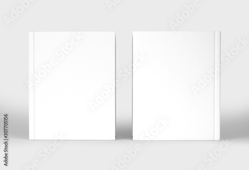 Blank Cover Of Magazine, Book, Booklet,Brochure,Photo book albums Mock up Fototapet