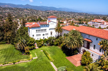 Ariel View Of Santa Barbara, C...