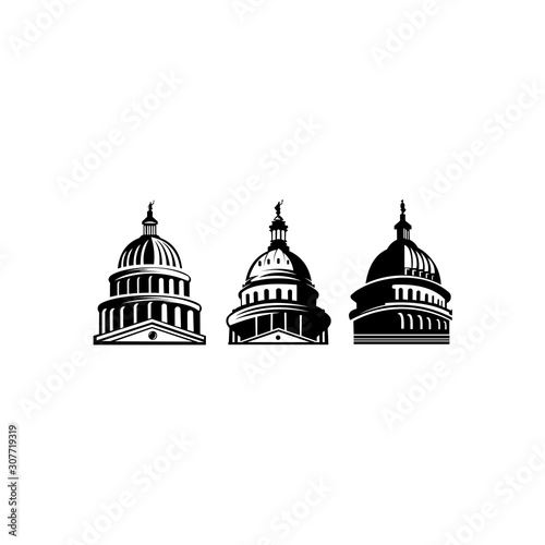 building cultlture of austin,Austin USA, detailed silhouette,Stylish andmark, Business travel austin