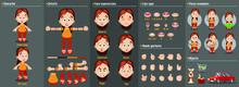 Cartoon Redheaded Housewife Co...