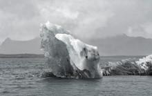 Blue Large Iceberg Jokulsarlon...