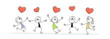 Doodle Stick Figure: People Da...