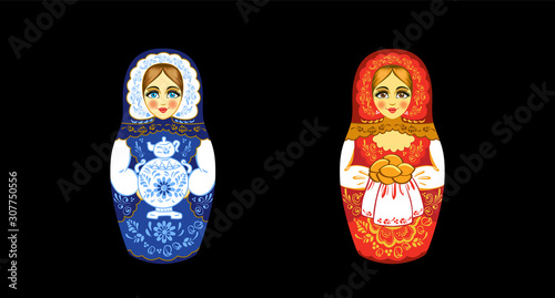 Photo Russian nesting doll