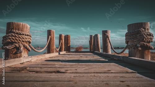 Cuadros en Lienzo Windsor Lake Dock