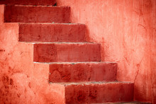 Old Painted Stairs