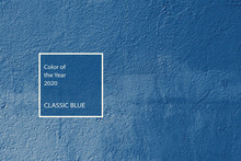Classic Blue Color Trend Conce...