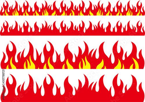 火のイメージ素材集 Tablou Canvas