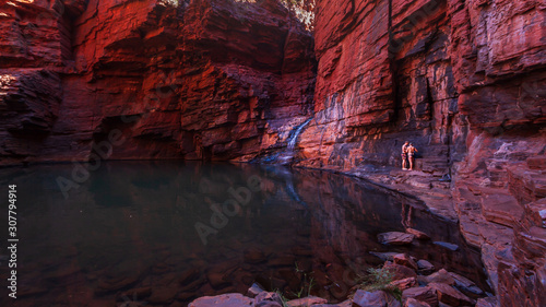 Photo Views in Handrail Pool, Weano Gorge, Karijini National Park, Western Australia