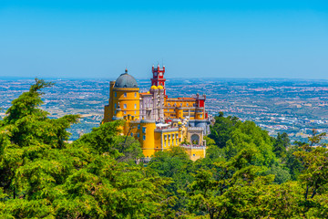 National Palace of Pena near Sintra, Portugal