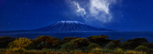Stars Over Mount Kilimajaro. P...