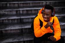 Smiling African-american Man I...