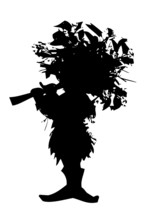 Forest Elf - Silhouette Of Fai...