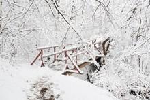 The Wooden Bridge Across Horsk...