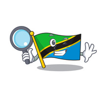 One Eye Flag Tanzania Detectiv...