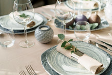 Luxury Table Setting For Dinin...