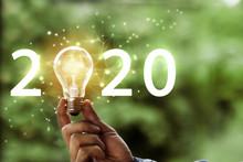 Light Idea With 2020 Concept.