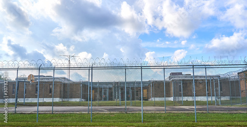 Photo Orangeburg County detention center which house city, county, state, and federal prisoners and those awaiting trials