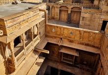 Old Haveli At Jaisalmer City
