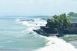 Leinwanddruck Bild - Tanah Lot Temple on the sea in Bali, Indonesia.