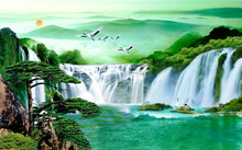Landscape 3d Illustration, Cas...