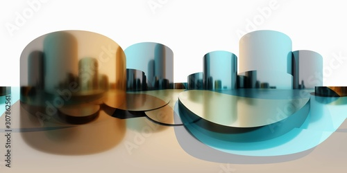 фотография HDRI, environment map , Round panorama, spherical panorama, equidistant projecti
