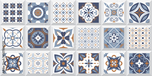 high resolution for ceramic print. backsplash background design. mosaic, ceramic kitchen tile, abstract pattern