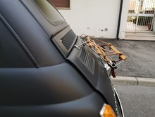 Car Rear Luggage Rack With Leather Straps