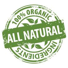 All Natural 100 Percent Organi...
