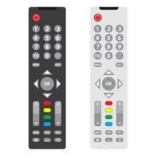 TV Remote, TV Remote Icon. Two...