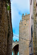 the historic center of Erice trapani Sicily Italy