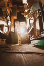 Old Vintage Storage Room