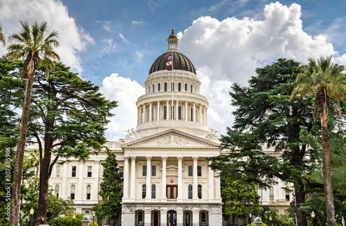 Leinwand Poster California State Capitol in Sacramento