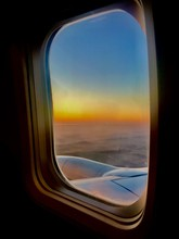 Beautiful View From Airplane W...