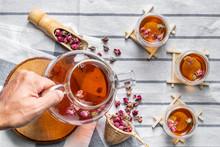 Tea Made From Tea Rose Petals ...