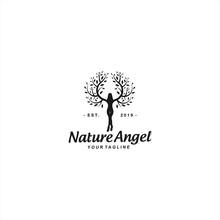 Abstract Human Logo Design Tem...