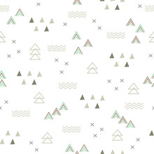 Seamless Pattern Abstract Teep...