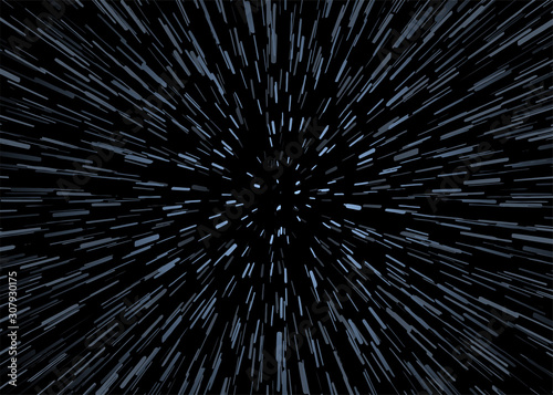 Fotografiet universe speed background