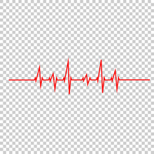 Vector Illustration Heart Beat...