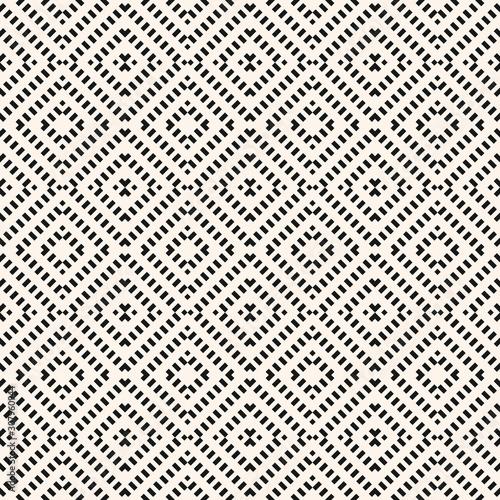 Carta da parati  Vector geometric seamless pattern