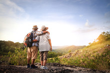The Elderly Couple, Hiking And...