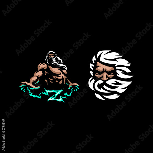 Fotografía Greek god Zeus.