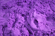 Purple Kinetic Sand. Backgroun...