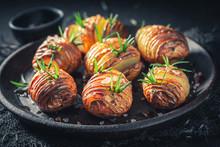 Freshly Baked Baked Potatoes M...