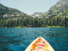 Kayaking On Emerald Lake, Tahoe