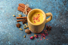 Healthy Drink Of Masala Tea Wi...