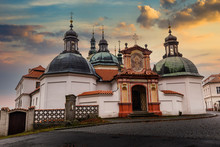 Baroque Klokoty Church And Clo...