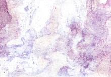 Purple Lilac Watercolor Textur...