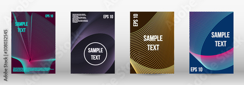 Fototapety, obrazy: Geometric template with lines
